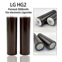 4 PC. New Original for LG 18650HG2 3000 3.6 18650 Lithium Ion Continuous Discharge 20A Continuous Discharge High Capacity Power