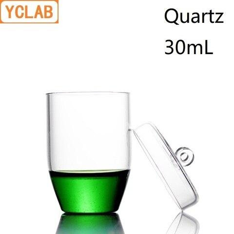 equipamento altamente transparente da quimica do laboratorio da resistencia de alta temperatura do cadinho de