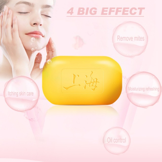 Universal Body Care Skin Cleaning Bathing Sulfur Soap Drug Bactericidal For Acne Psoriasis Seborrheic Eczema Antifungal