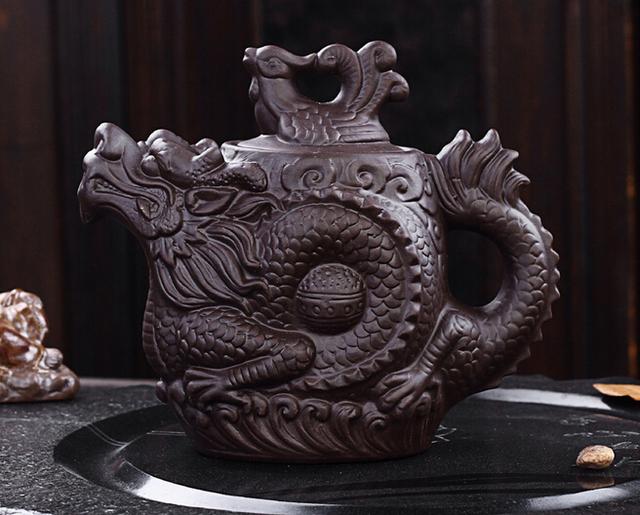 Traditional Chinese Dragon Teapot big