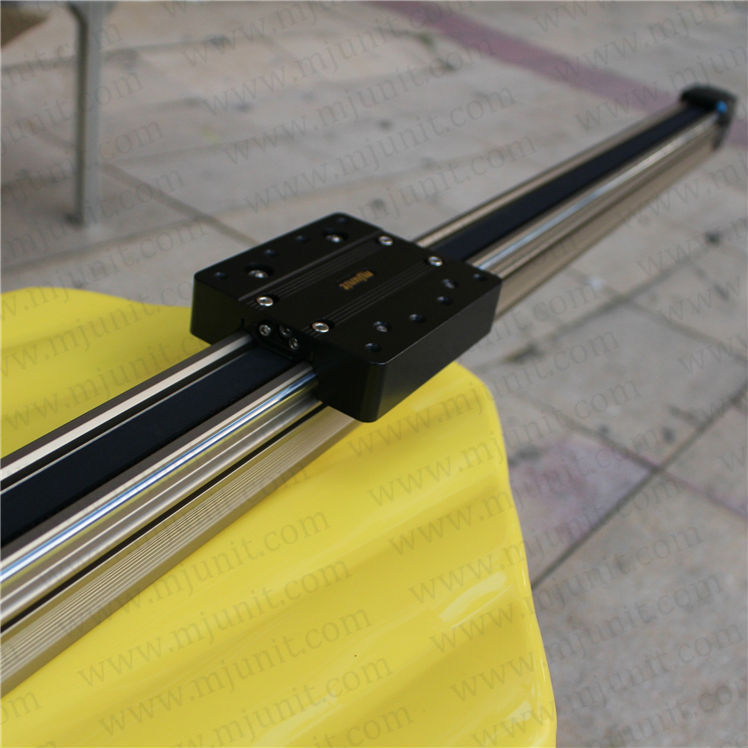 high quality Linear Shaft Support Rail Aluminum Alloy Motion U shape bearing Slide Unit Guide