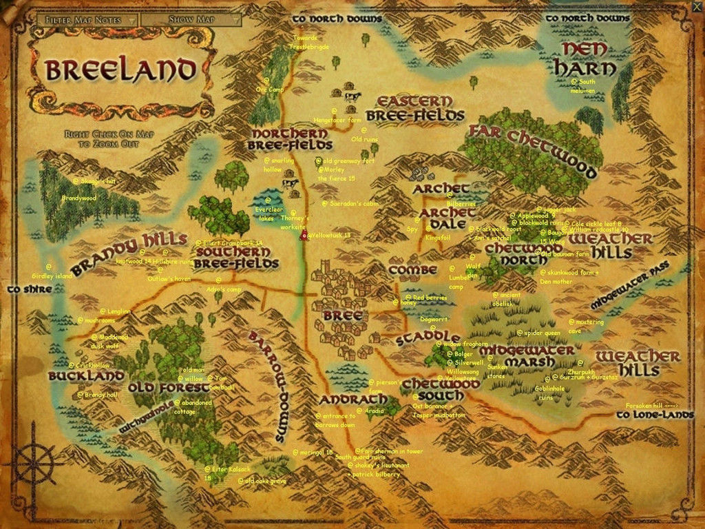 Map of Middle Earth The Lord of the Rings Map Movie poster 17 x