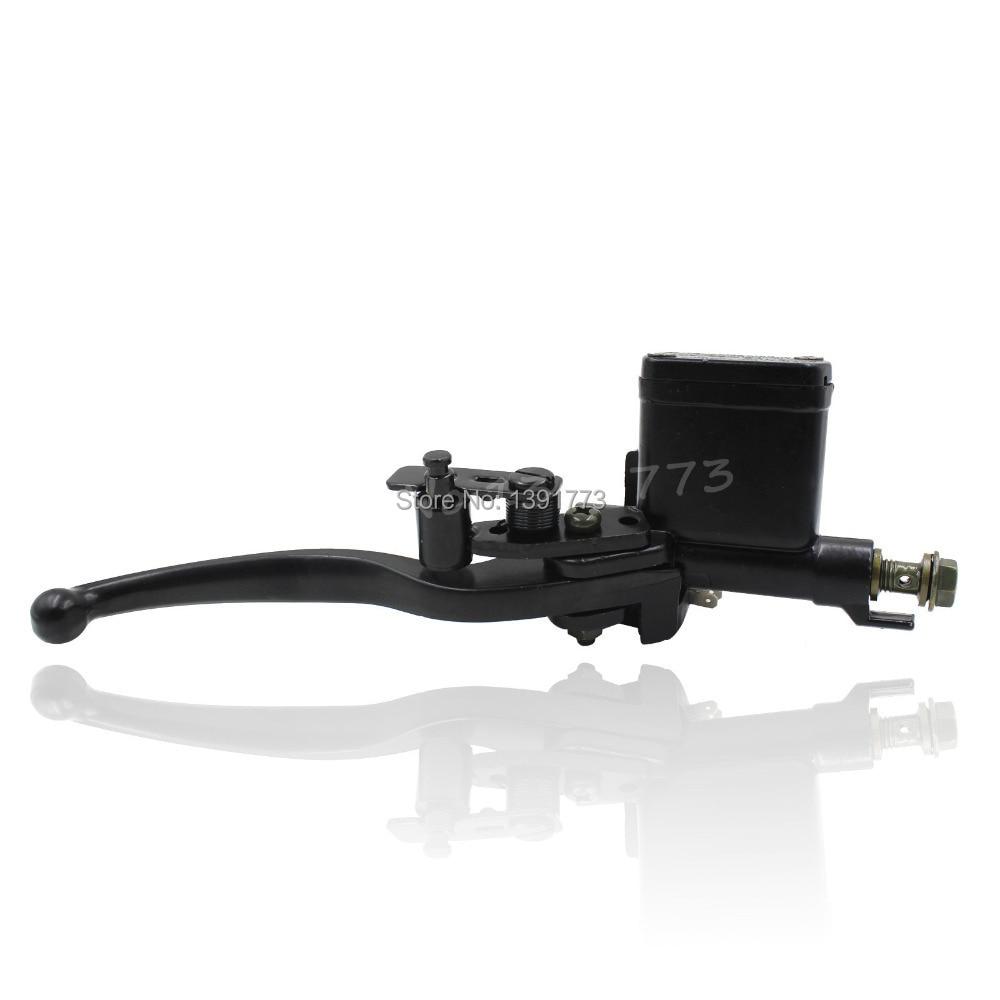 23mm Black Right Hydraulic Brake Master Cylinder Lever 50 70 90 110 125CC ATV Quad Pit Bike Taotao Sunl Orion X Motor BSE New