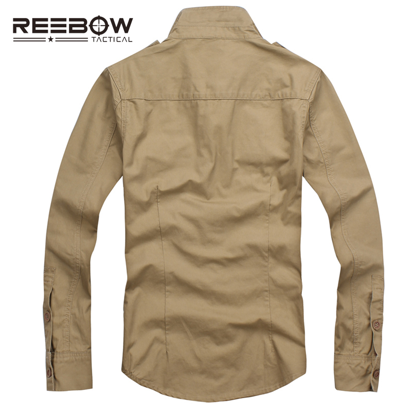 REEBOW TACTICAL Men Autumn Military Outdoor Hiking Shirts Long Sleeve - Sportswear and Accessories - Photo 3