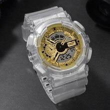 лучшая цена Relogio Feminino Digital Women's Sports Watch Waterproof Women LED Fitness Electronic Wrist Watch For Ladies Men Girl Wristwatch