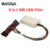 Super CAN Filter 8 in 1 for MB CAN Filter for W221 W204 W212 W166 and X166 W172 W218 W246 CAN Filter Odometer Tool