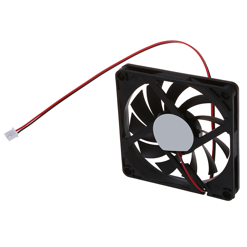 80mm 2 Pin Connector Cooling Fan for Computer Case CPU Cooler Radiator in Fans Cooling from Computer Office