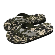 купить Camouflage Summer Men Flip Flops Casual Slippers Sandals Slipper Indoor Outside Flip-flops Beach Shoes Male Flat Slippers по цене 170.27 рублей