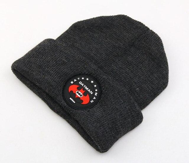 Baby Wool Hat Fashion Trend Keep Warm Children winter Hat Wool Hat Batman  Chivalrous Hats Wholesale 3db907a98