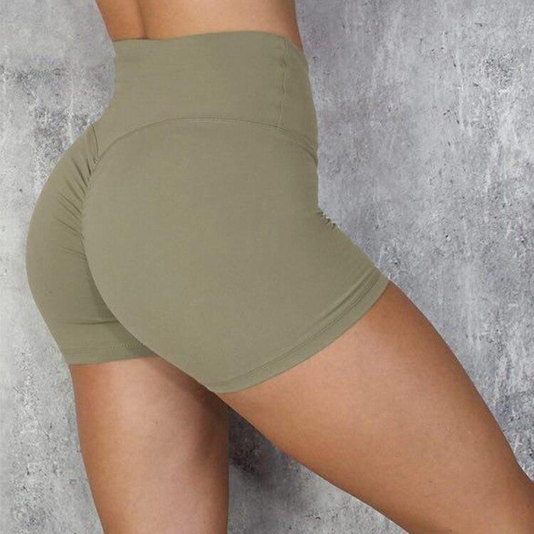 Calções esportivos para mulheres correndo fitness activewear