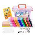 Eco-friendly 24 color Oven Bake clay mud Sculpture DIY Material Set Polymer clay Figuline Soft Fimo Kid Gift Box Package