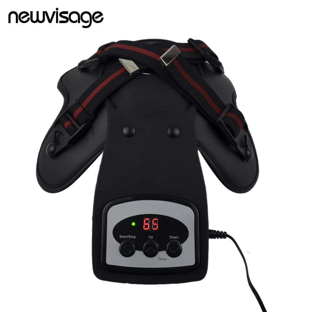 A artrite magnética do ombro do cotovelo da terapia térmica do infravermelho distante da máquina da fisioterapia vibra o massager da articulação do joelho aliviar a dor artigo