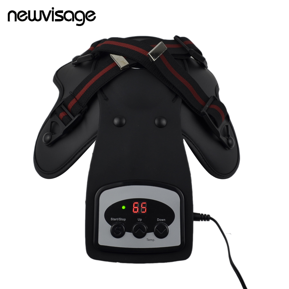 Physiotherapy Machine Far Infrared Heat Therapy Magnetic Elbow Shoulder Arthritis Vibrate Massager Knee Joint Pain Relieve Item
