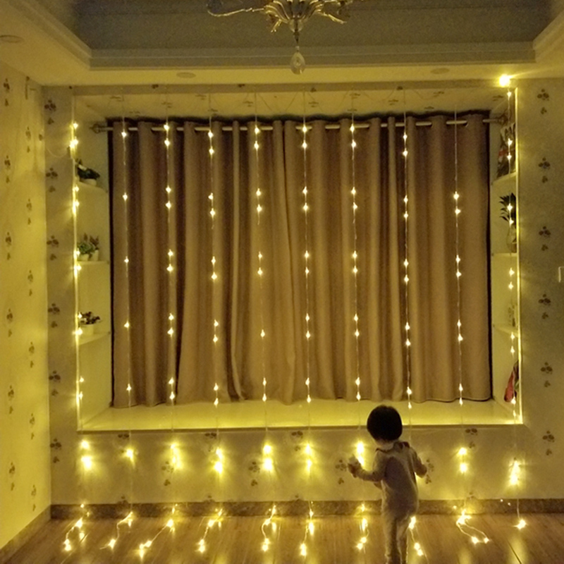 luz da corda do casamento natal de fadas cordas garland 04
