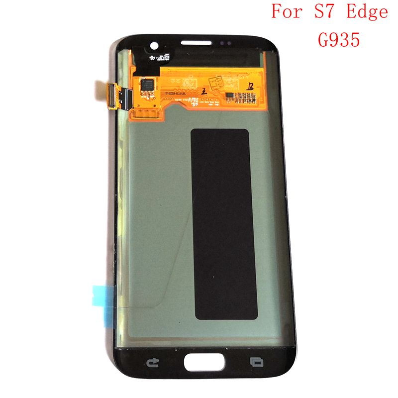 5.5Amoled For Samsung Galaxy S7 Edge SM-G935F G935F G935FD G935A Lcd Screen+display+Touch Glass Assembly Replacement Amoled image