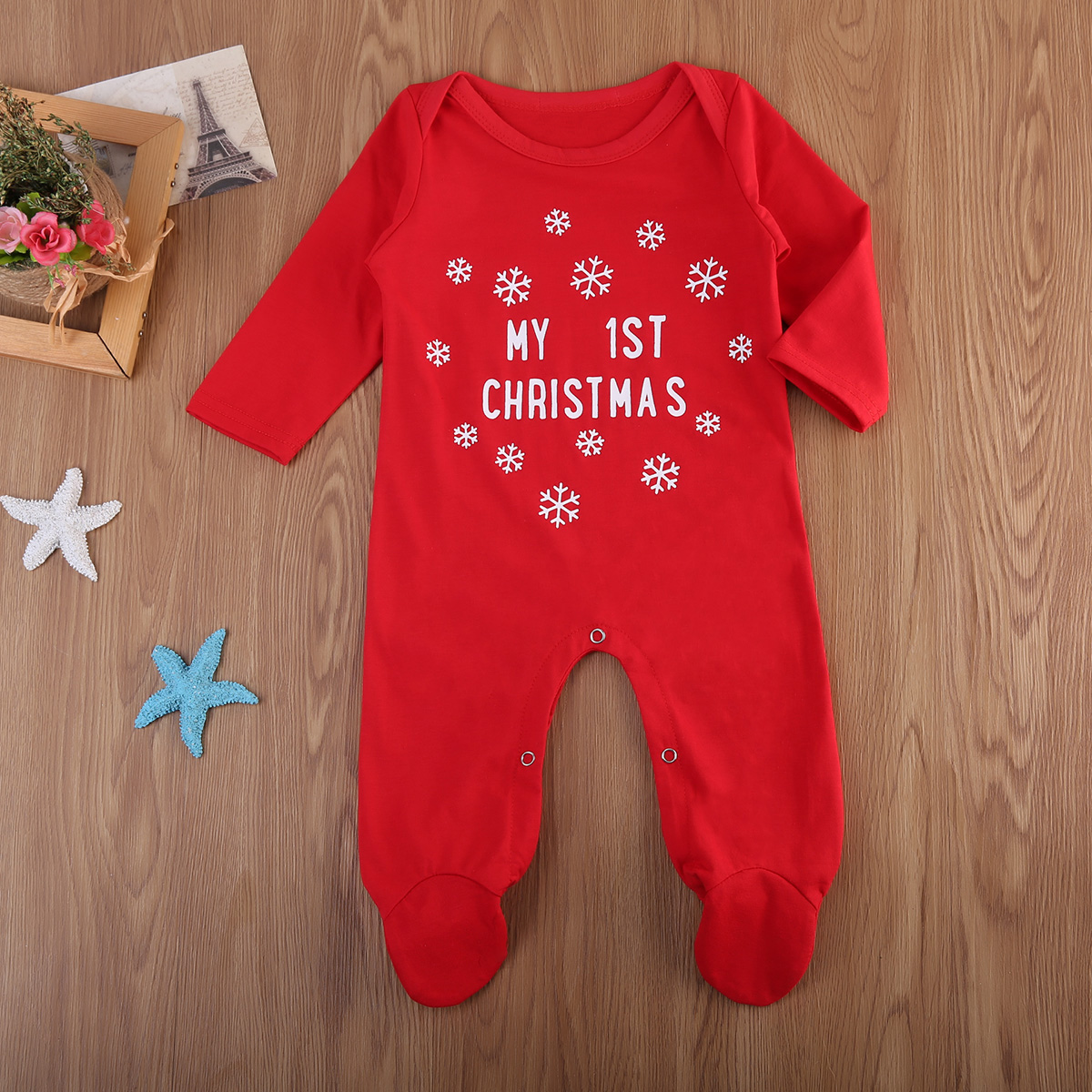 de344ed56d54 pudcoco christmas baby boy girls romper long sleeves infant newborn ...