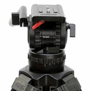 Image 2 - TERIS TRIX TS120 Professionele Statief Fluid Head 100mm kom Belasting 12KG voor Video camcorder statief Film RED Scarlet epic