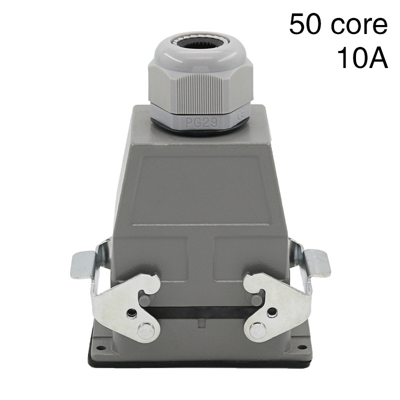 Heavy duty connector 50 core rectangular hdc-hdd-050 cold pressure plug industrial waterproof plug socket 10A tactical bsa catseye 6 24x44 sp optical sight side parallax riflescope mil dot hunting rifle scope