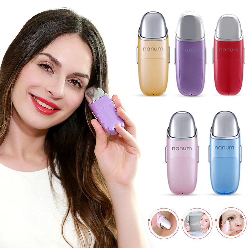 Portable Nano Mist Sprayer Facial Body Nebulizer Steamer Moisturizing Skin Care Mini USB Face Spray Beauty Instruments Device nano spray mist facial steamer skin care skin moisturizing ultrasonic face beauty instrument ozone anion steamed face care