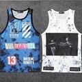 2015 Moda Colete W OFF-WHITE Hip Hop Tanque Colete Top camisa camisa colete clohting Streetwear Para Homens