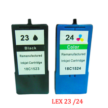 Vilaxh Ink Cartridge For Lexmark 23 24 Z1410 Z1420 X3530 X3550 X4530 X4550