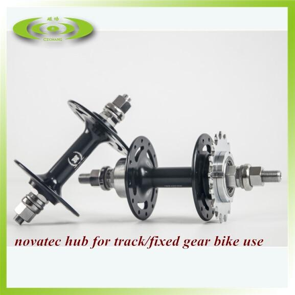 Moyeu de piste pour vélo à pignon fixe novatec 165 166 moyeu de vélo avec livraison gratuite