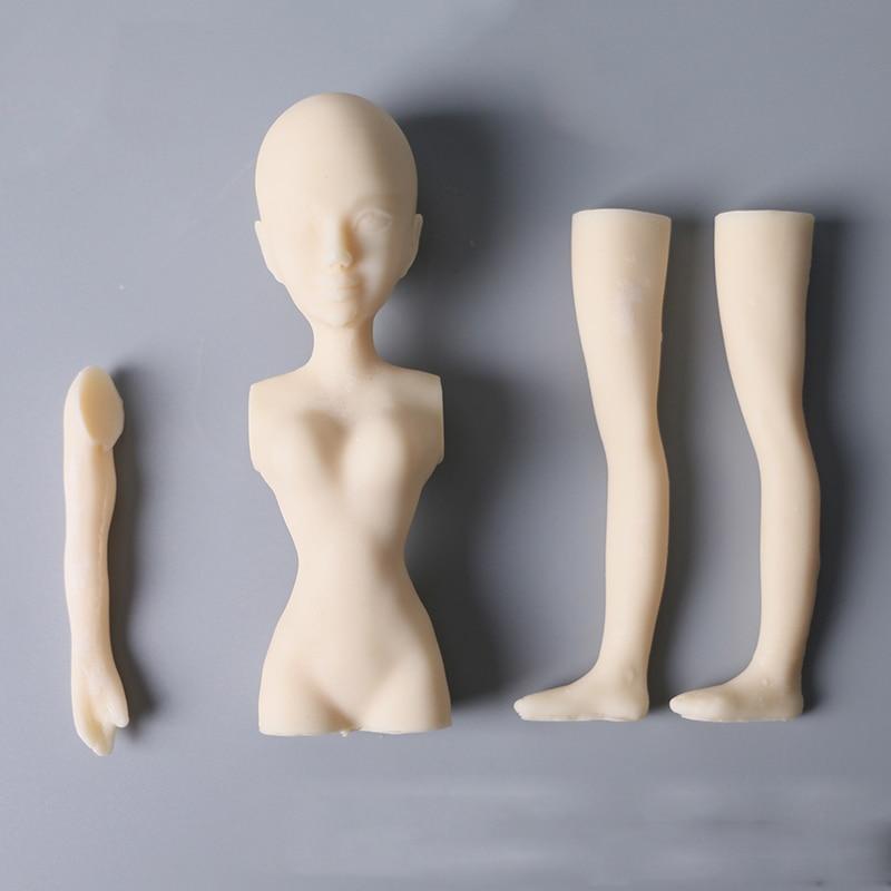 3d forma de boneca moldes de aniversário