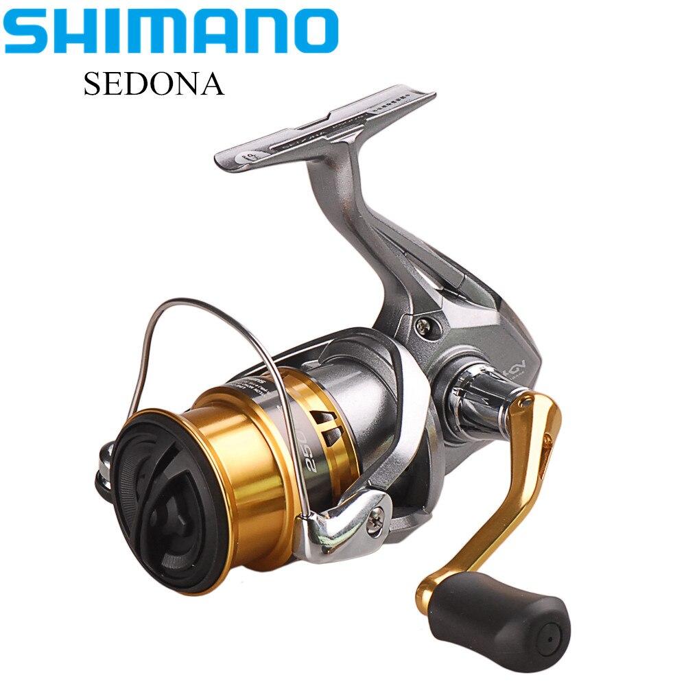 SHIMANO SEDONA C2000S ~ C5000XG Spinning Angeln Reel 4BB Hagane Getriebe Carretilha Moulinet Peche Carrete Pesca Köder Spinning Reel