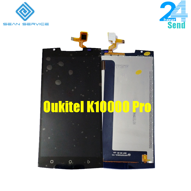 Für Oukitel K10000 Pro handy LCD Display + TP Touch Screen Digitizer Assembly + Tools 5,5