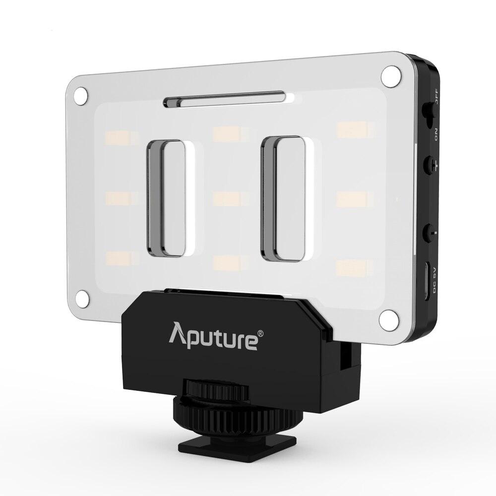 Aputure AL M9 Amaran Mini LED Video Light TLCI CRI 95 with 9pcs SMD Bulbs Ultra