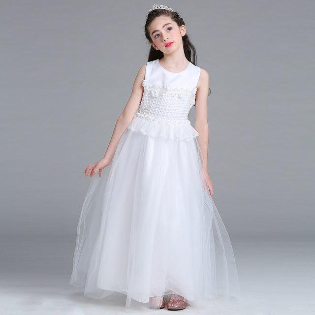 Wedding dress for girls white