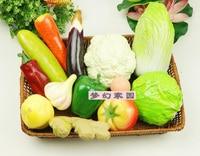 Artificial vegetable model bundle fake fruit set kitchen cabinet photography props decoration Min. Order US$11
