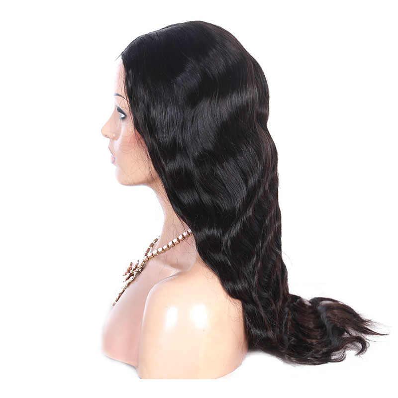 Короткий Боб 4x4 парик с закрытием 250 Плотность фронта шнурка человеческих волос парики бразильские Remy Волнистые толстые для черных женщин Бесплатная средняя часть