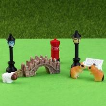 Set of 58pcs Miniatures for Decorating Landscapes & Bonsai
