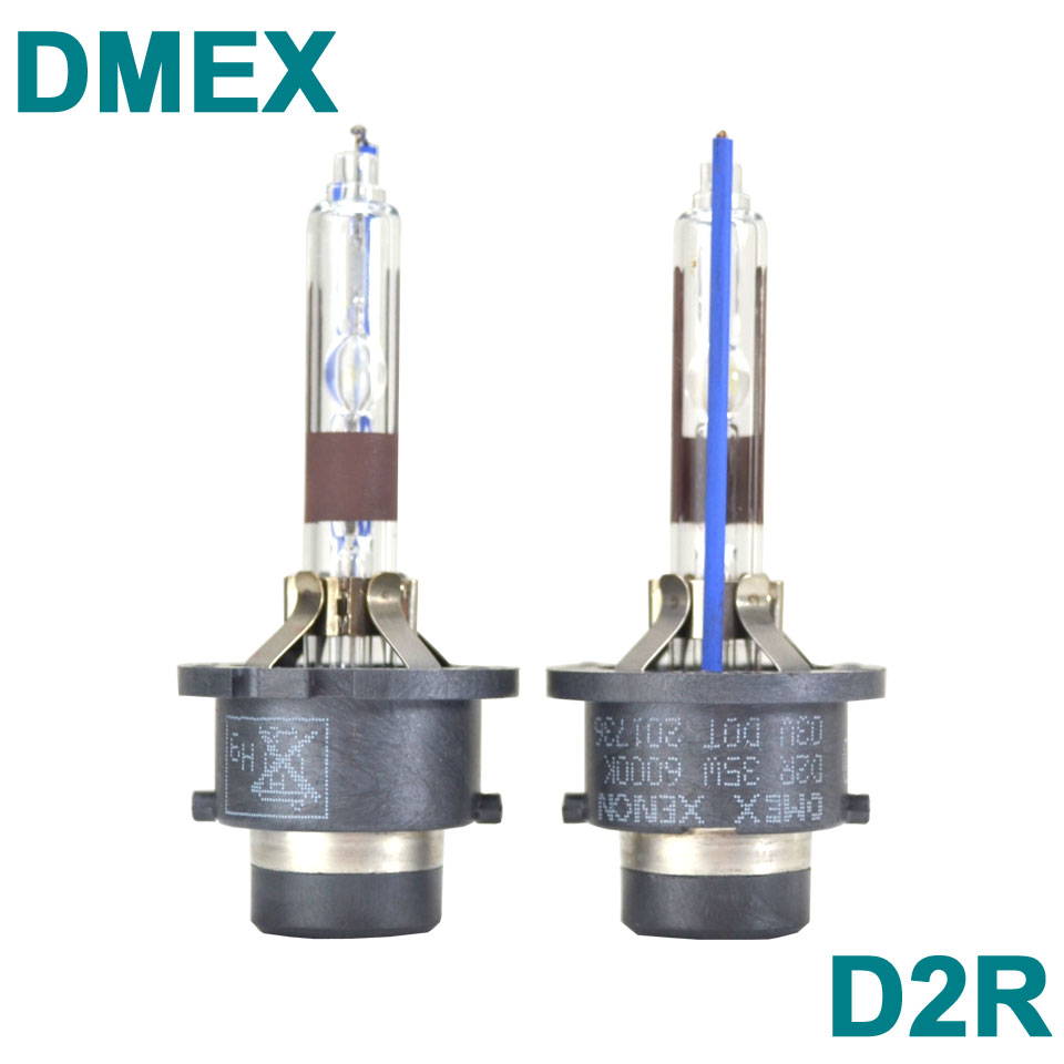 Prix pour DMEX 1 Paire OEM Régulière 35 W D2R Xenon HID Ampoule 4300 K 4500 K 5000 K 5500 K 6000 K 8000 K HID Xenon Phare Lampe pour Voiture phare