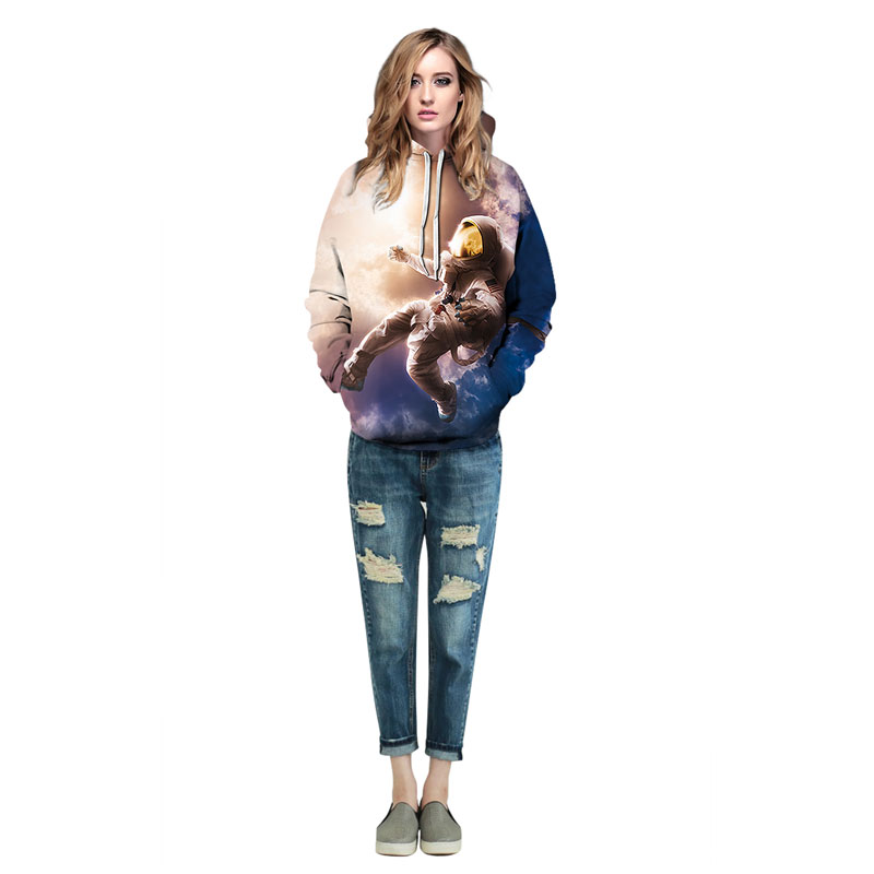 New Fashion Men/Women 3d Sweatshirt Print Astronauts On The Moon Astronauts On The Moon hoodies HTB1S0yVbMoQMeJjy0Fnq6z8gFXal