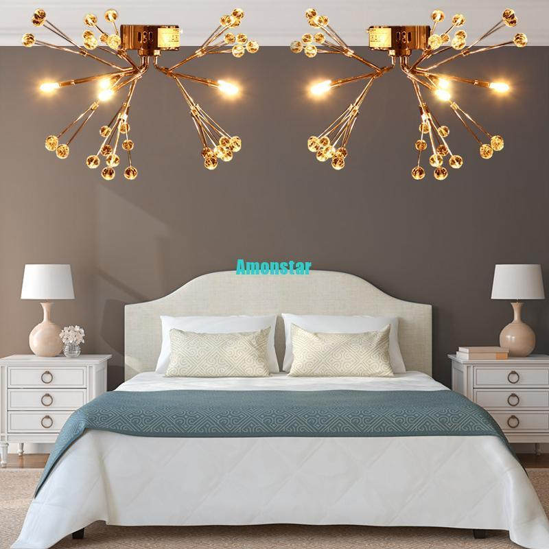 (Ship from Germany) 2PCS Classic European style Ceiling light Clear Glass Shades For Living Rooms Bedroom
