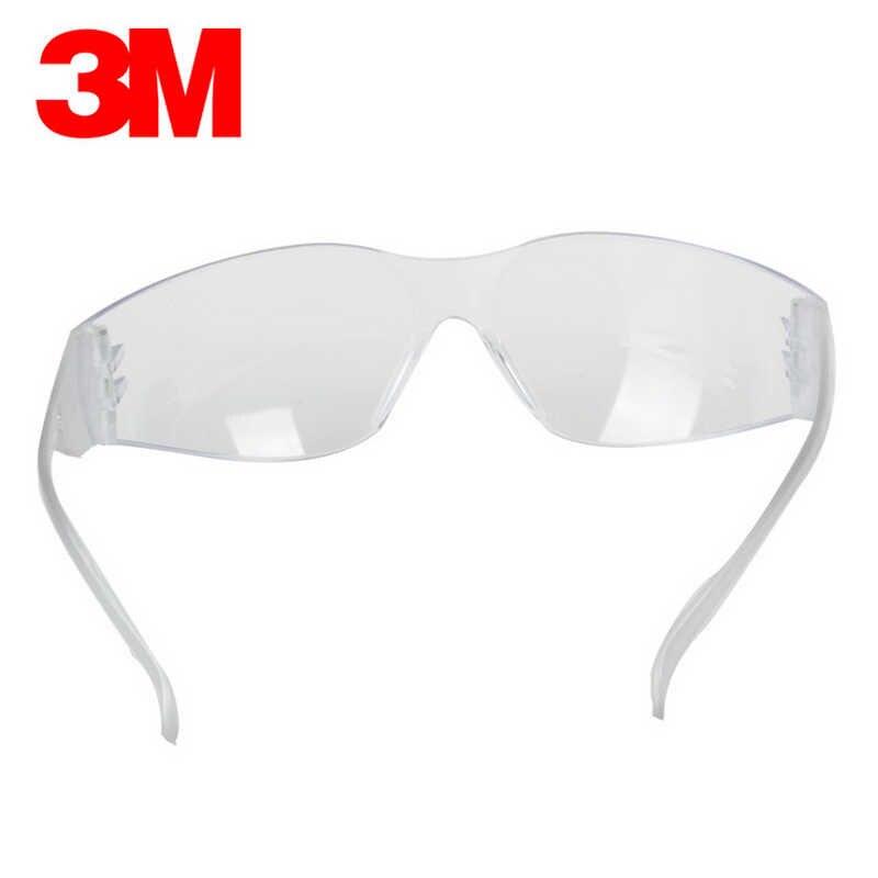 نظارات شفافة 3m 11228 مضادة للرمل ومضادة للغبار تعمل نظارات واقية للعمالة نظارات واقية مضادة للرياح نظارات السلامة