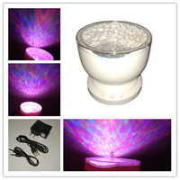 Romantic LED Projector Lamp Night Light Multicolor Holiday Gift Cosmos With Mini Speaker Kid Favorite Colorful
