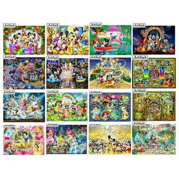 5d diy diamant schilderen Disney Mickey Mouse cartoon prinses 3D strass mozaïek borduurwerk cartoon home decoratie kids gift