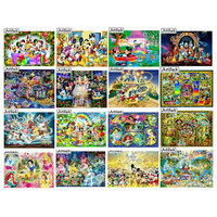5d diy diamond painting Disney Mickey Mouse cartoon princess 3D rhinestone mosaic embroidery cartoon home decoration kids gift