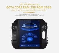 KiriNavi 10.4 HD Touch Display Android 6.0 For KIA SPORTAGE Car Radio MP5 Audio GPS Navigation Multimedia Players 2011 2016