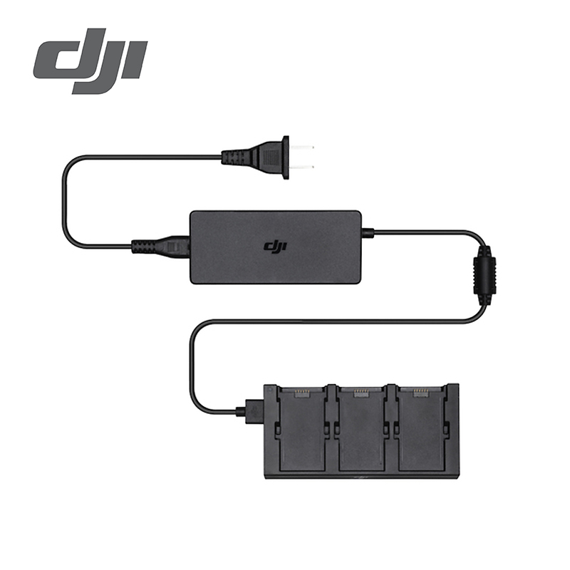 DJI Spark Battery Charging Hub Charge 3 batteries at the same time Intelligent current limiting feature
