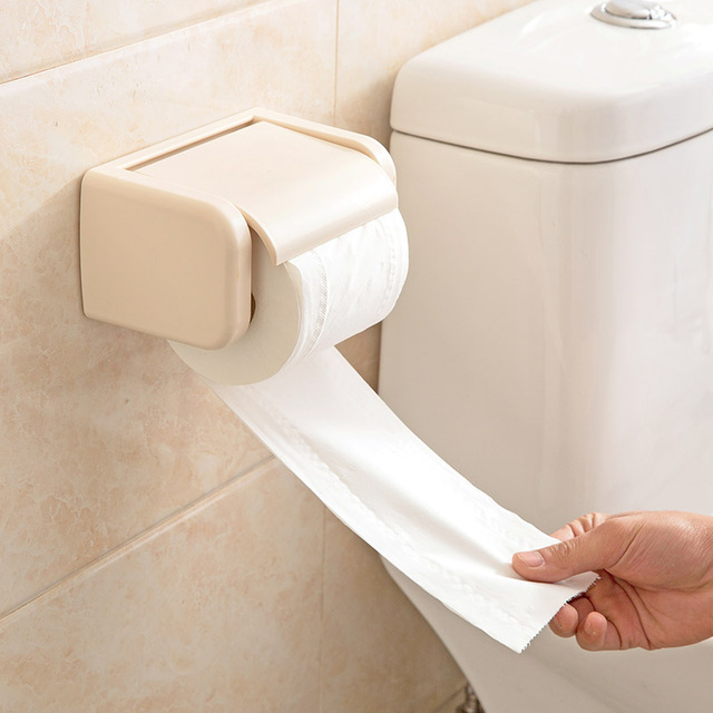 japanese toilet paper holder. Japanese toilet paper towel rack holder creative free  punch box with a