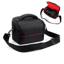 Camera Bag Shoulder Case For Canon EOS M100 M10 M5 M3 M6 M50 M2 SX540 HS SX530 SX520 G1XII SX410 SX430 SX420 Is SX500 SX510 SX60 cheap Camera Case Shoulder Bag NYLON Camera Bags Handbags Mirrorless System Camera Point Shoot Camera Camcorder Battery Universal