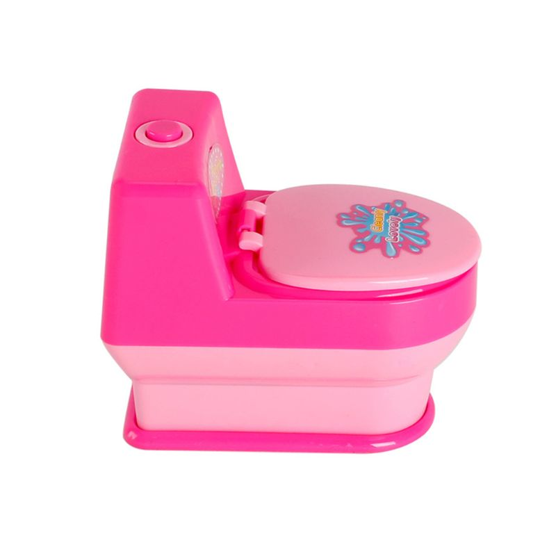 Children Kid Boy Girl Mini Kitchen Electrical Appliance Automatic Toilet Toy Set Early Education Dummy Household Pretended Play