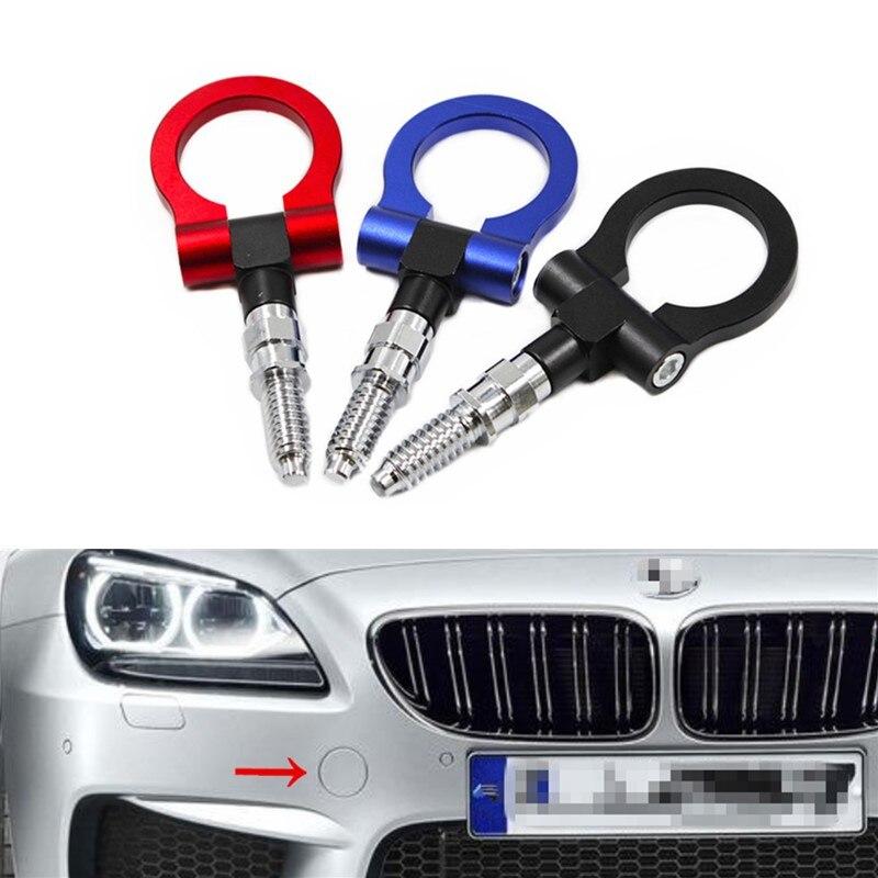 NEO CHROME CNC EURO RACING T2 TOW HOOK FOR BMW M E46 E81 E30 E36 E90 E91 E92 E93