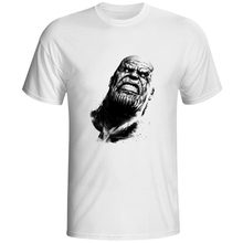 Thanos Is The Real King Of Galaxy T Shirt Super Hero Casual Movie Cool T-shirt Comics Superhero Style Hip Hop Unisex Tee