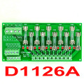 Panel Mount 10 Position Power Distribution Fuse Module Board, For AC110V.
