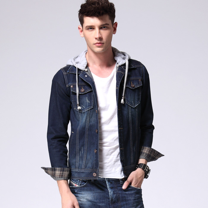 Aliexpress.com : Buy 2015 New Arrival Denim Jacket Men Detachable ...
